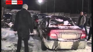11 машин попали под снежную лавину