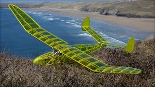 Keil Kraft Invader. RC conversion maiden flight.