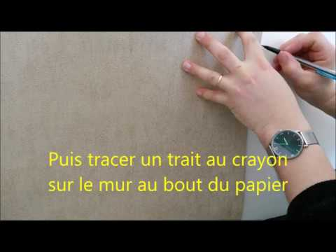 tuto poser du papier peint youtube. Black Bedroom Furniture Sets. Home Design Ideas