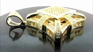 Premium Micro Pave Diamond Pendant Thumbnail