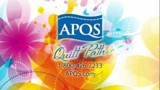APQS Quilt Path Introduction