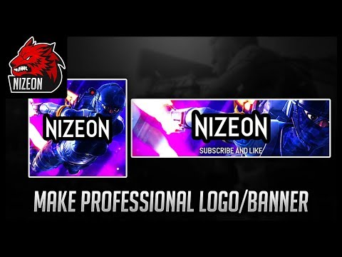 HOW TO MAKE A PROFESSIONAL LOGO AND BANNER FOR FREE! (YOUTUBE, TWITCH, TWITTER, ETC)