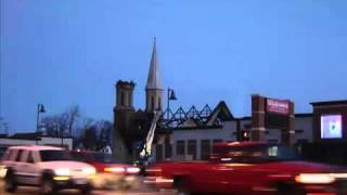 Fond du Lac, Wisconsin - St. Louis Church Burns