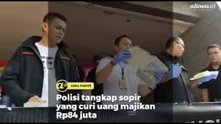 Polisi tangkap supir yang curi uang majikan Rp84 juta