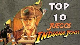 Indiana Jones - Top 10 Videojuegos