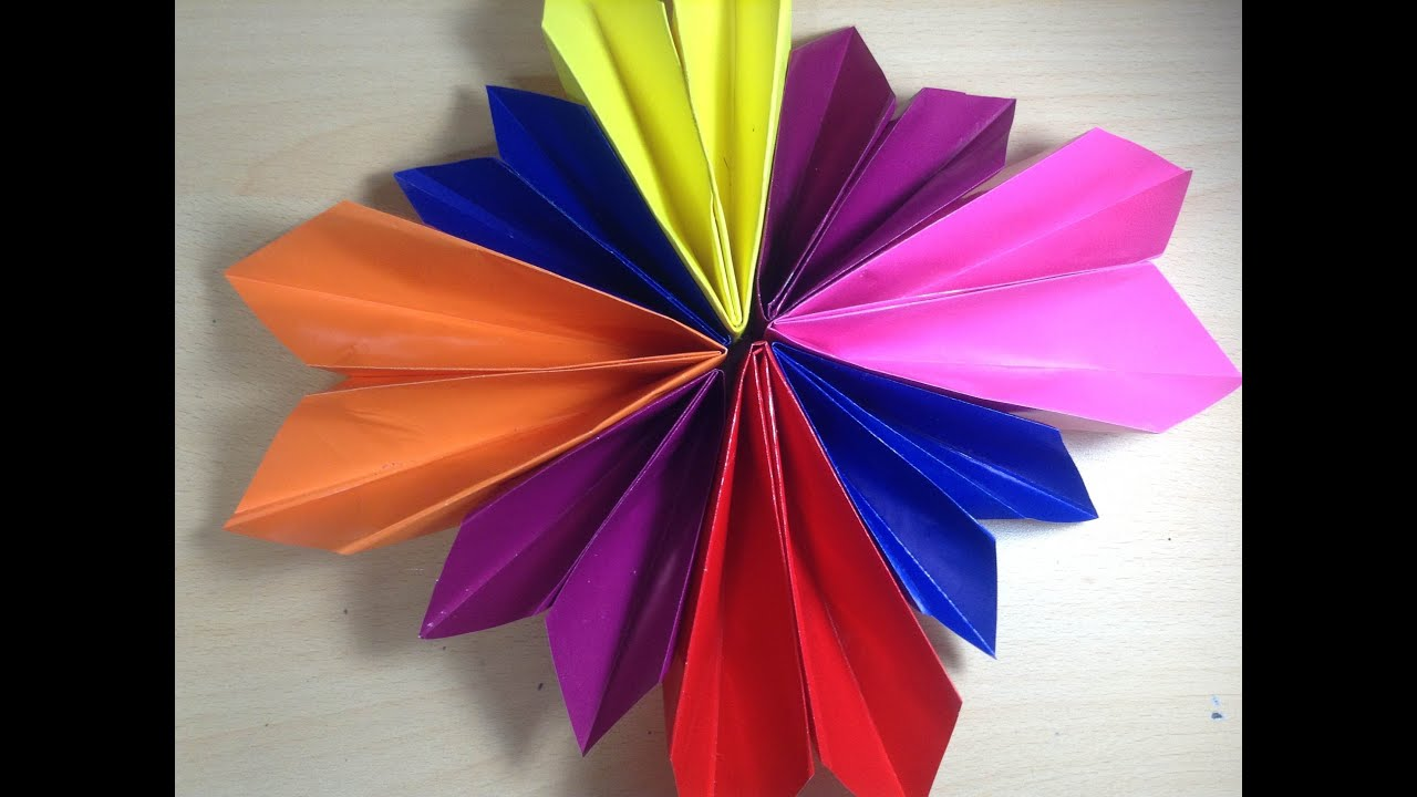 diy mothers day origami flowers youtube
