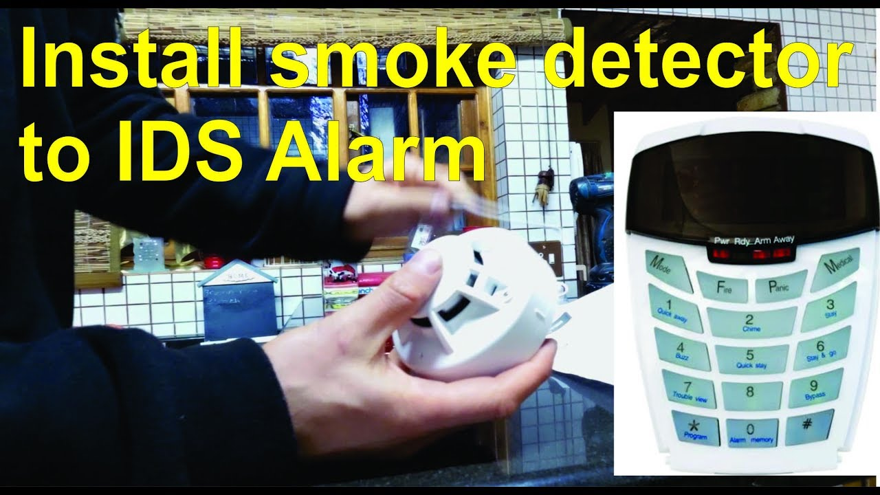 How to install a smoke detector and connect it to an alarm ids x64 how to install a smoke detector and connect it to an alarm ids x64 cheapraybanclubmaster Choice Image