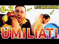 UMILIATI... ROMA-NAPOLI 0-2 [LIVE REACTION]