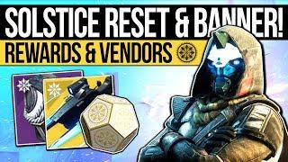 Destiny 2 | SOLSTICE RESET & FINAL BANNER! Nightfall Exotic, New Rewards & Eververse (14th August)