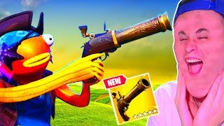 MEJORES MOMENTOS y TRUCOS con *PISTOLA CON MECHA* en FORTNITE Battle Royale *EPIC FAILS*