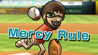 Wii Sports Baseball is completly unfair