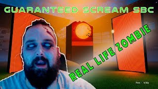 SBC - Real life zombie opening scream pack walkout - Fifa 18