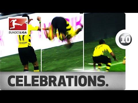 Top 10 Acrobatic Goal Celebrations