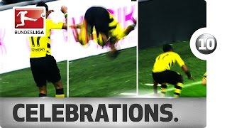 Top 10 Acrobatic Goal Celebrations