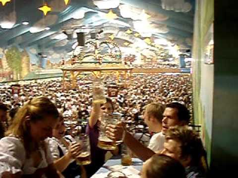 """Oktoberfest 2010 Munich Hacker Zelt - """"Ein Prosit"""""""