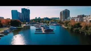 Смотреть видео Аэросъемка домов, жилищных комплексов, поселков