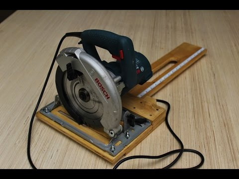 Circular Saw - Rip Cut Jig