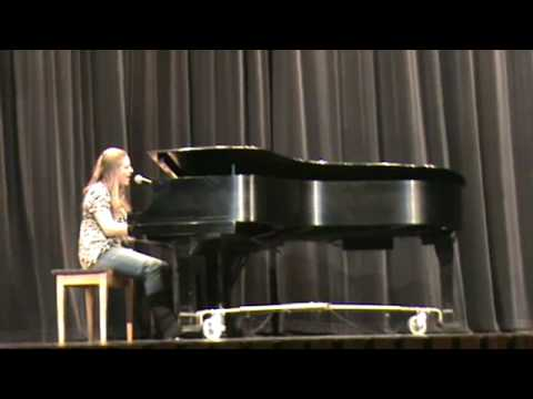 "Emilee Smith SE Talent Show 2009 ""Slowly But Surely"""