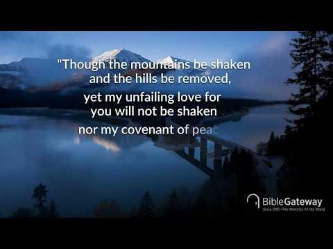 Bible Verse: Isaiah 54:10 NIV