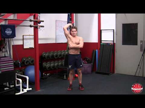 How To: Single-Arm Dumbbell Overhead Extension