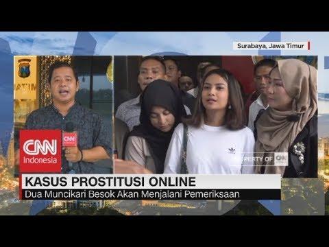 Vanessa Angel Ditetapkan Tersangka Prostitusi Online - Live Report