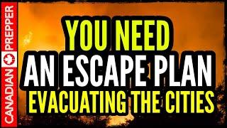 California is Burning: Evacuating Cities