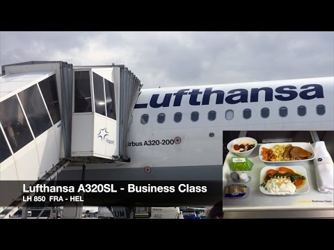 Lufthansa A320 Sharklets | Business Class | Frankfurt ✈ Helsinki | Full HD Trip Report