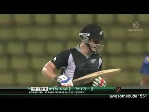 BJ Watling 96 off 88 vs Sri Lanka
