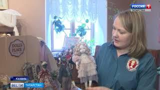 В галерее Казанской Ратуши проходит всероссийская выставка кукол «Друзья кота казанского»