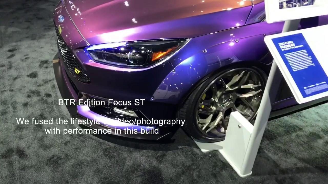BTR Edition Ford Focus ST SEMA 2017