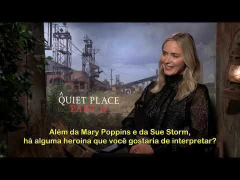 Emily Blunt como Sue Storm em Quarteto Fantástico? Atriz diz que já interpretou uma heroína!