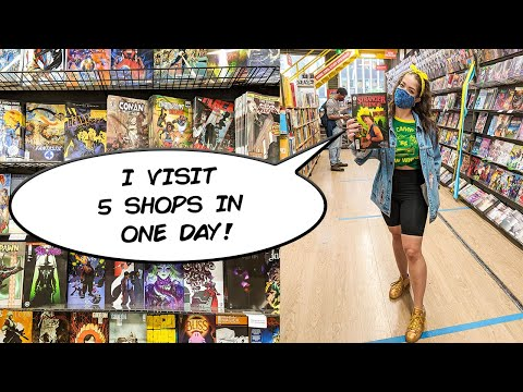 Where to buy Comic Books in NYC