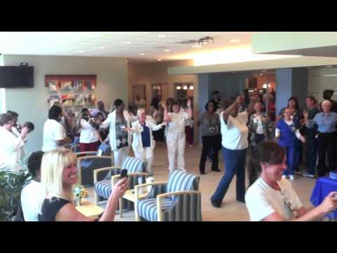 Flash Mob Dance at St.Vincent Seton Specialty Hospital - Indianapolis