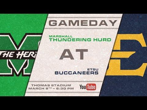 ETSU Baseball vs Marshall University 3/8/2017