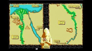 Day  of the Pharaoh gameplay (Chip/1989)