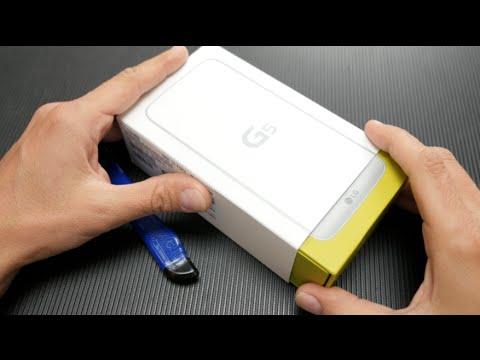 LG G5 unboxing [Greek]