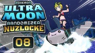 SLAYING WAVES B! • Pokemon Ultra Moon Randomizer Nuzlocke • EP08