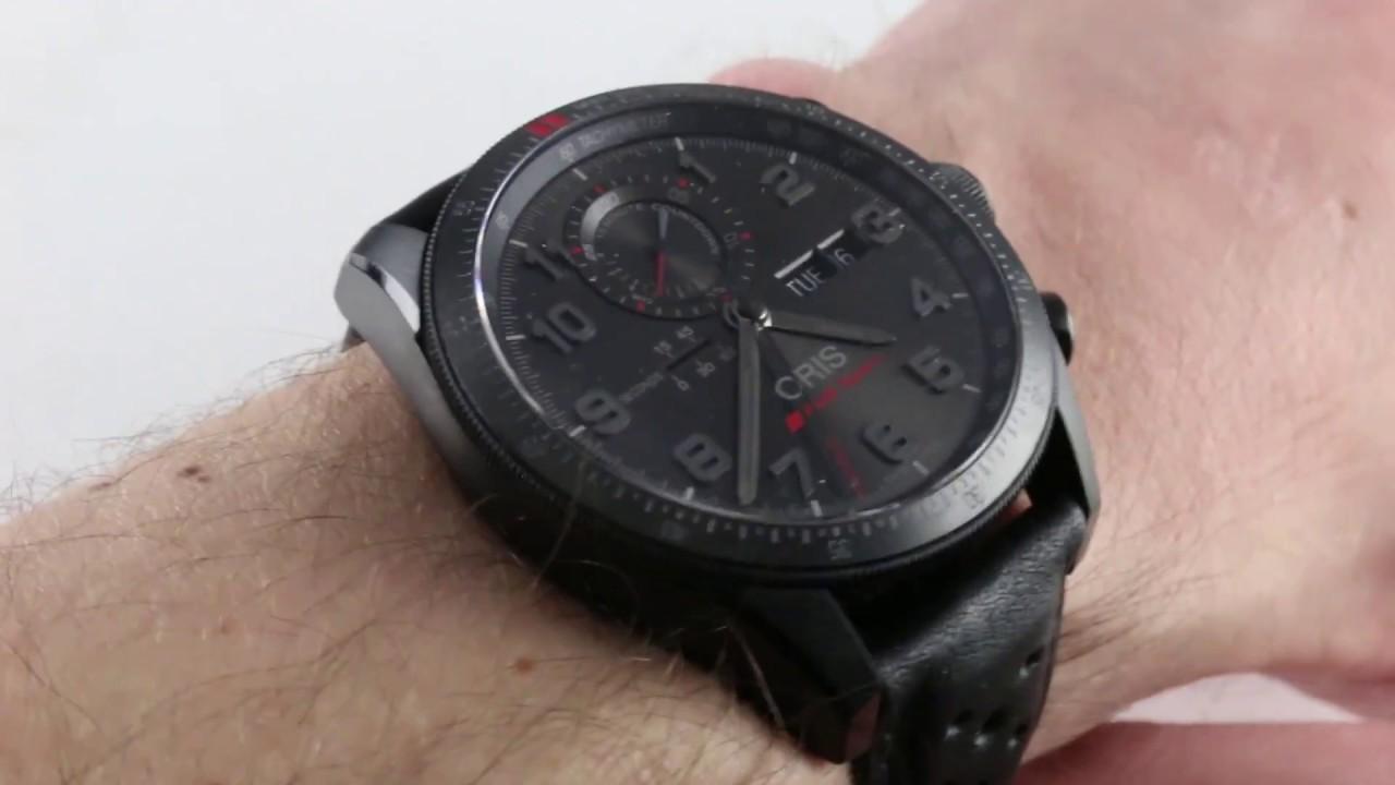 Oris Audi Sport Limited Edition II Chronograph LS - Audi watch