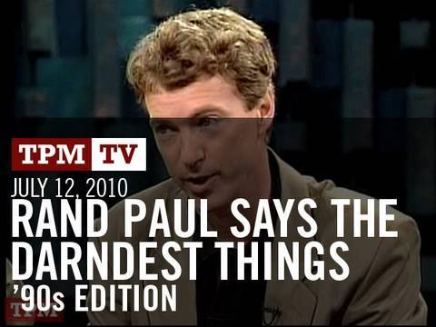 Download Rand Paul In The '90s: Medicare Is Socialism And Social Security Is A Ponzi Scheme