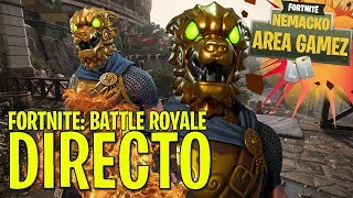DIRECT #139 // PLAYING WITH THE SKIN COMBAT SABUESO IN FORTNITE BATTLE ROYALE CHILE