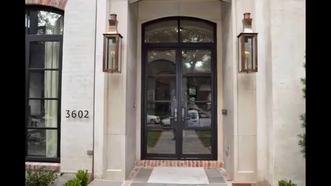 & Houston Iron Doors - Metro Steel Doors - Iron Doors Plus - YouTube
