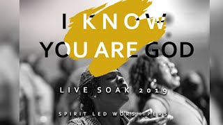 I Know You Are God // Spirit Led Worshipers // SOAK 2019