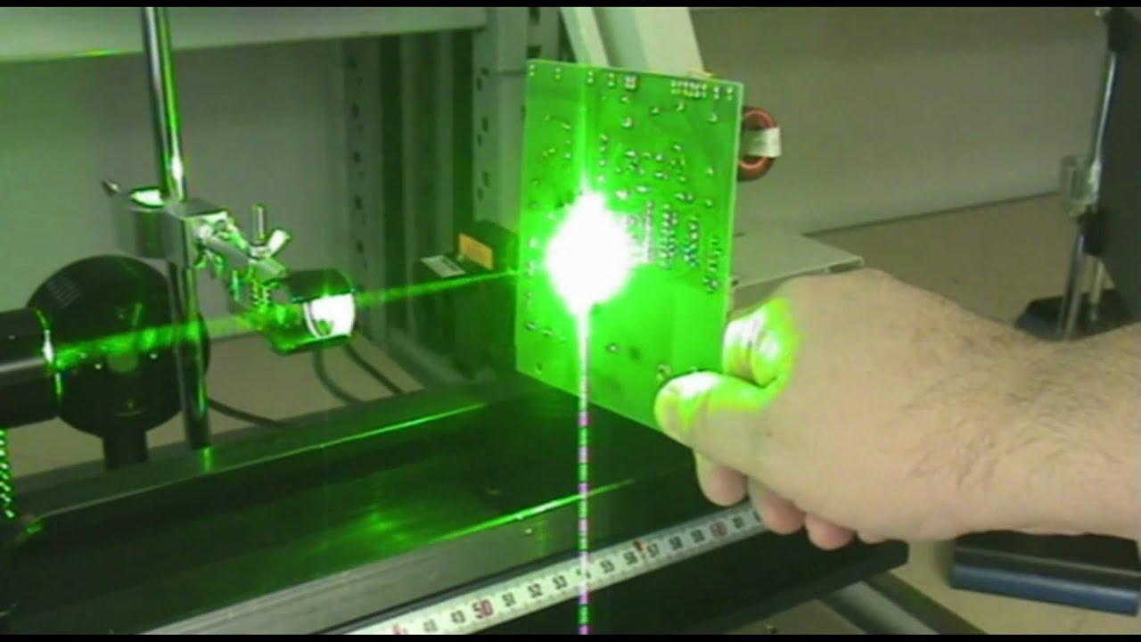 1mj 532nm Pulsed Laser Wmv Youtube