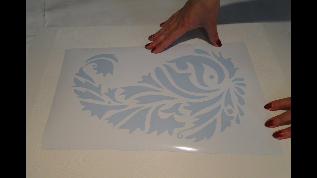 Трафареты для декора орнаменты своими руками
