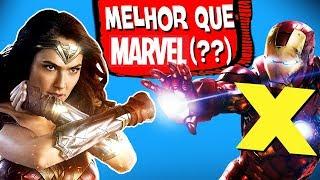 8 provas que a DC é MELHOR do que a Marvel!