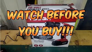 Watch this before buying the Hyper Tough 18 volt cordless drill