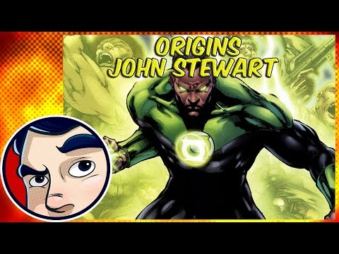 John Stewart Green Lantern(Pre New 52) - Origins