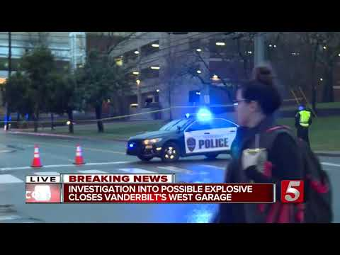 Report Of Explosive Device Blocks Streets Near Vanderbilt Parking Garage