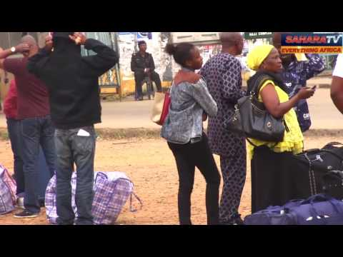 Nigerians Deported From United Kingdom Arrive In Lagos With