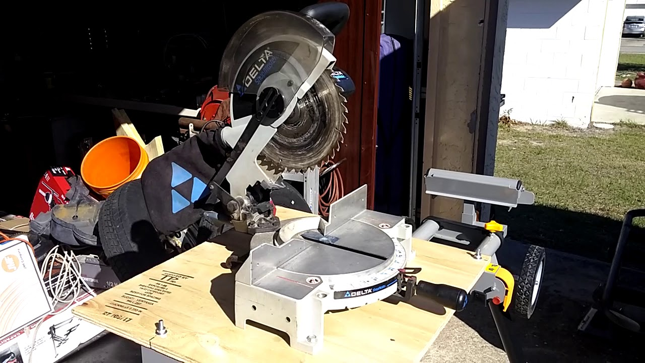 Harbor Freight / Chicago Electric Heavy Duty Miter Saw ...